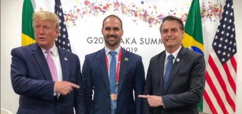 Você concorda com a indicação de Eduardo Bolsonaro a embaixador do Brasil nos EUA?