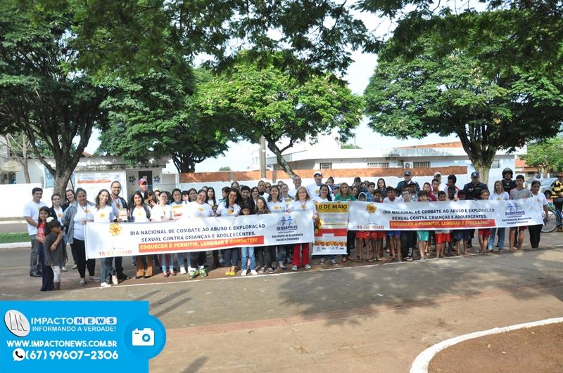 Dia Nacional de Combate a Exploração Sexual Infantil - Ação em Deodápolis