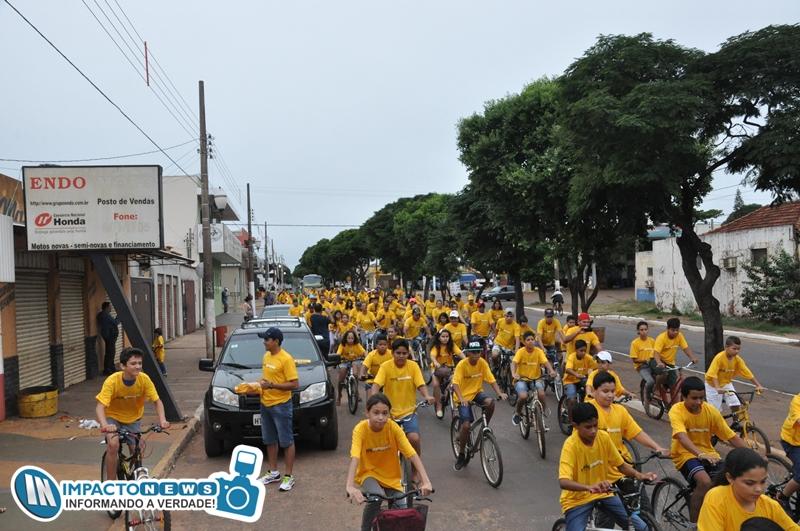 Maio Amarelo: Veja quem participou do passeio ciclístico promovido pela Jota FM