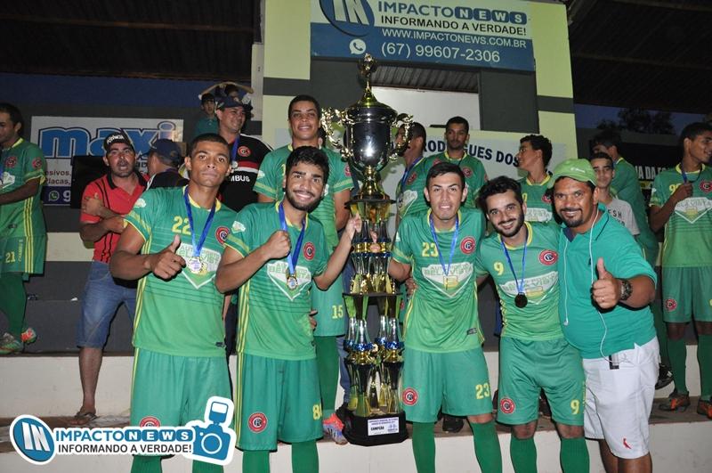 Veja aqui as fotos da grande final do Campeonato Municipal de Futebol Amador 2017
