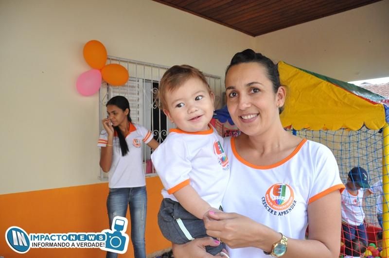 Veja aqui as fotos da reinauguração da Escola Particular Crescer e Aprender