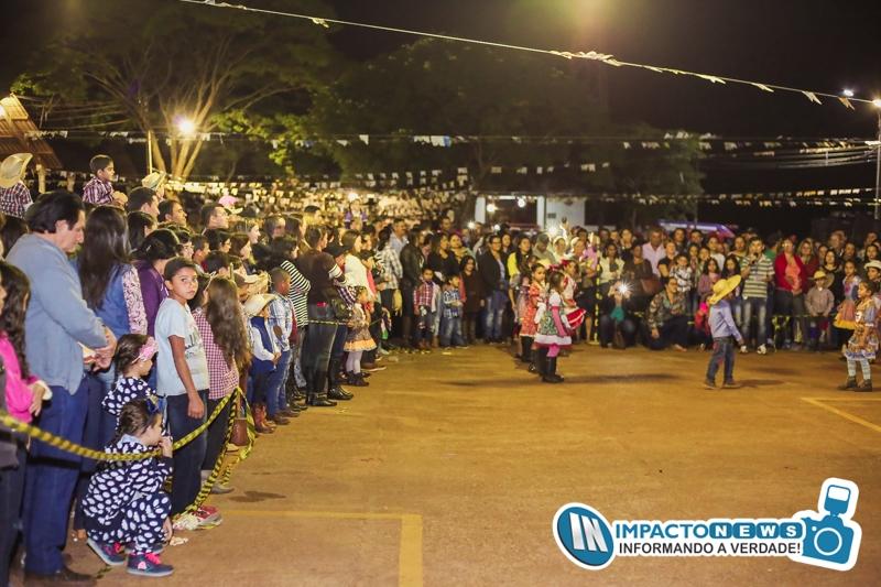 Arraiá Compartilhado promovido pela Prefeitura Municipal em Deodápolis