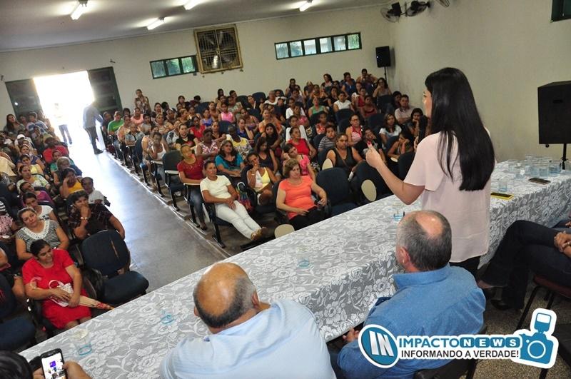 Visita da Vice Governadora Rose Modesto a Deodápolis e Glória de Dourados