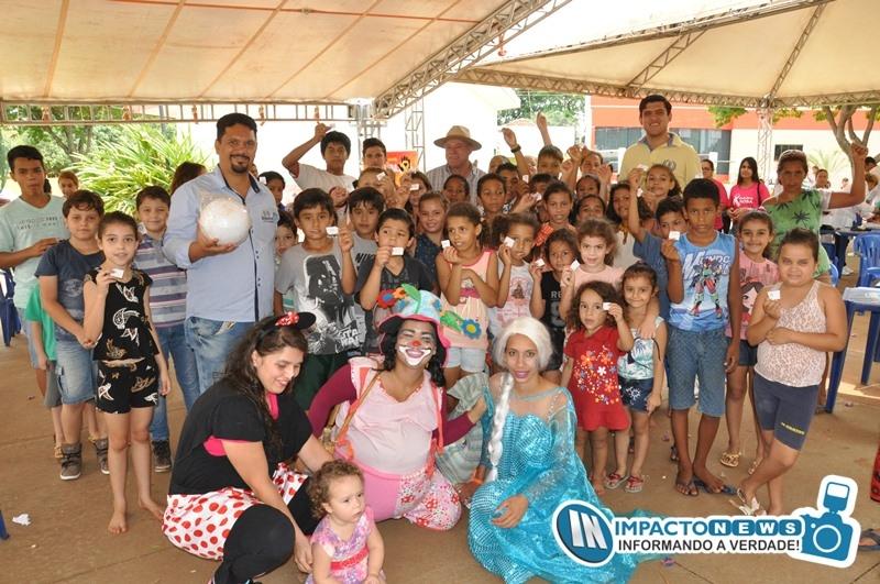 Diversão e prestação de serviços marcaram a 1ª ação intersetorial de Deodápolis com a participação da Unigran de Dourados
