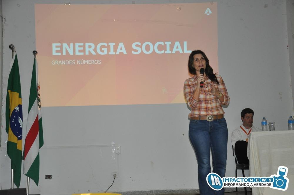 Apresentação do programa 'Energia Social' da Atvos, Polo Eldorado em Deodápolis