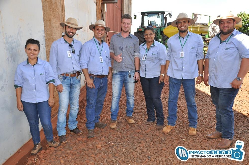 2º Agrisoja, reuniu mais de 200 produtores na propriedade da Familia Colli em Deodápolis; Organização da Deagri
