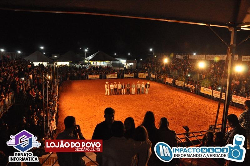 23ª Expoad - Festa do Peão - Final do Grande Rodeio e Show com a dupla Fred e Guilherme; Veja mais fotos