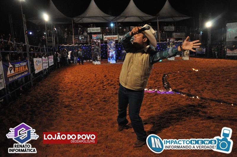 23ª Expoad - Festa do Peão - Rodeio em Touros e Show com a dupla Diego e Arnaldo em Deodápolis