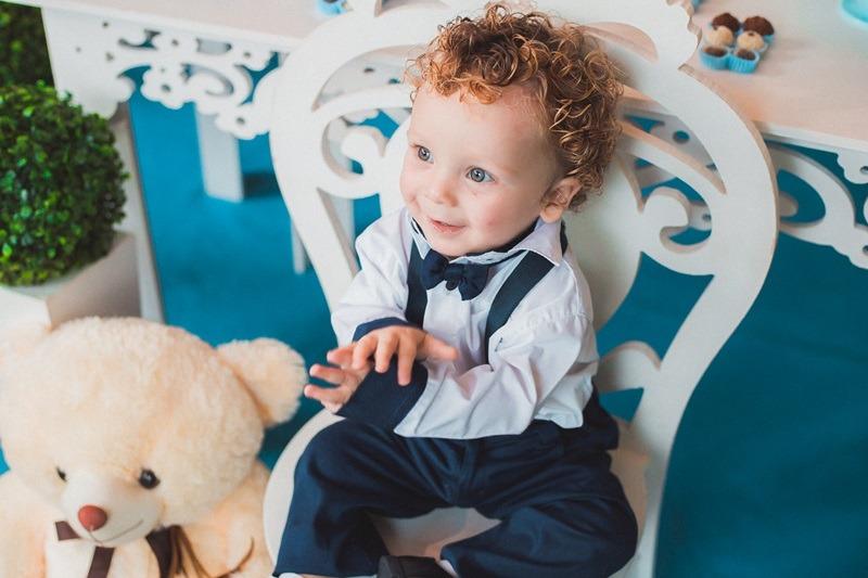 O Davi completou o seu primeiro aniversário. Aqui você confere as fotos do ensaio e do aniversário que contou com este príncipe lindo
