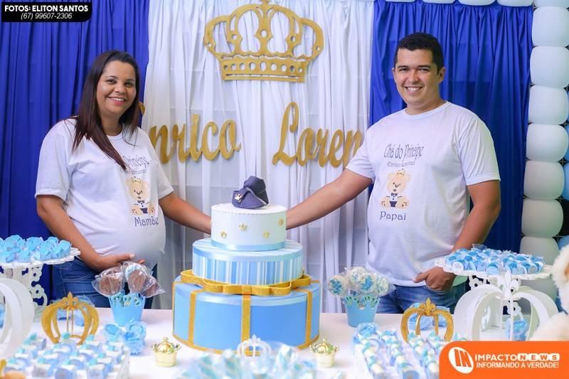 Veja aqui como foi o 'Chá de Bebê' do Enrico Lorenzo com a mamãe Andrea Pires e o Papai Eliton Santos