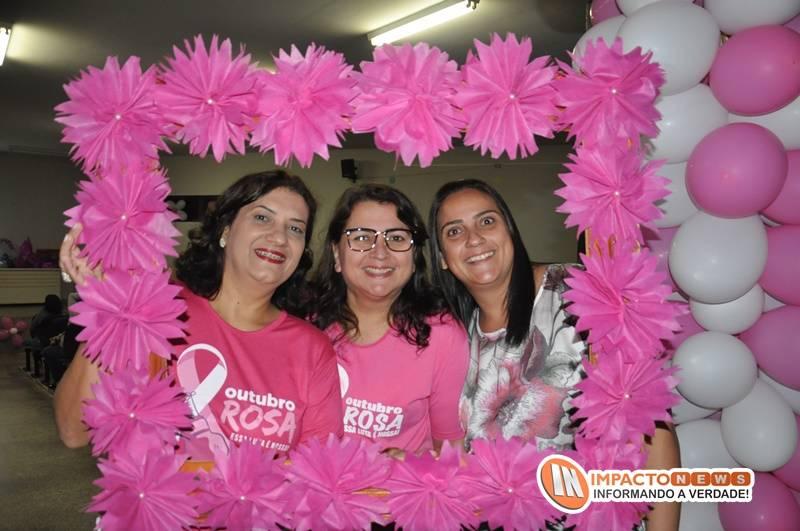 Abertura do 'Outubro Rosa' em Deodápolis com roda de conversa e sorteio de brindes