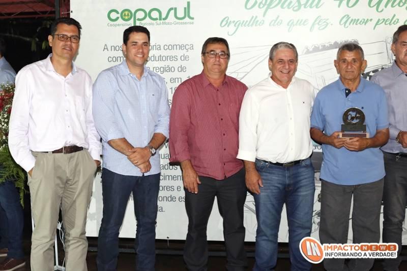 Veja aqui as fotos da comemoração dos 40 anos da Coopasul em evento realizado em Deodápolis