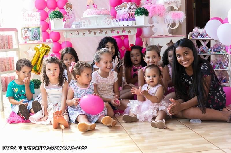 Linda festa do aniversário da pequena Talita Emanueli; veja as fotos