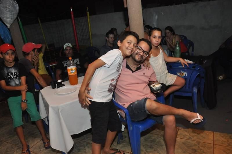 O Jorge Gabriel completou 10 anos e festejou com a família e amigos com um tema esportivo