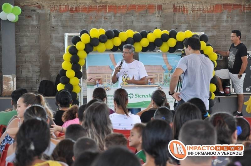 Lançamento do programa 'A união faz a vida' idealizado pelo Sicredi em parceria com a Prefeitura