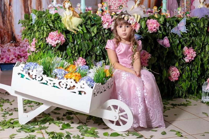 A Clarissa completou 5 aninhos em uma festa linda; veja aqui as fotos