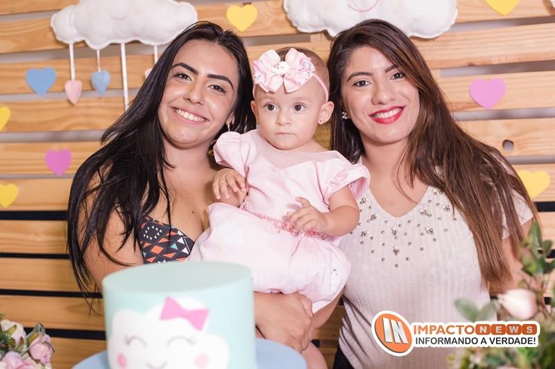 Veja aqui as fotos do batizado e do aniversário de 1 aninho da princesinha Manuela
