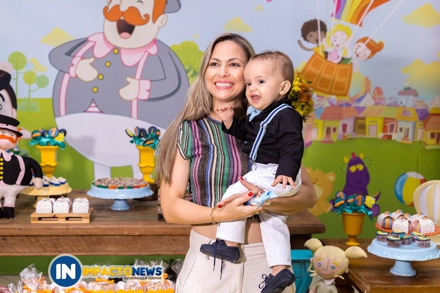 Aniversário do Lucas - 1º aninho