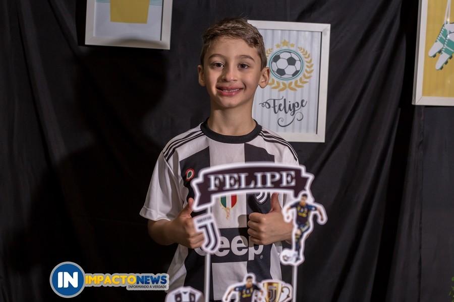 Aniversário de 7 anos do Felipe