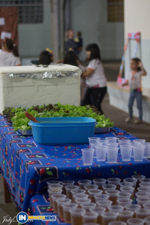 Festa em comemoração ao dia dos pais da Escola Crescer e Aprender