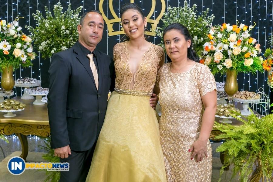 Festa dos 15 anos da Antonielle em Glória de Dourados