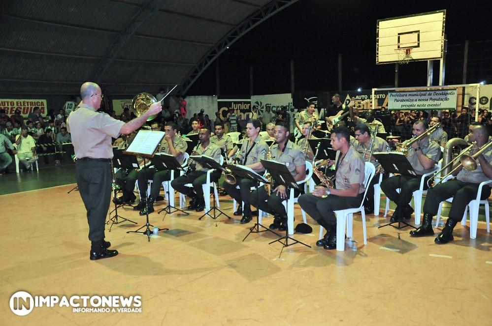 Abertura dos Jogos Escolares da Pátria 2019 em Deodápolis