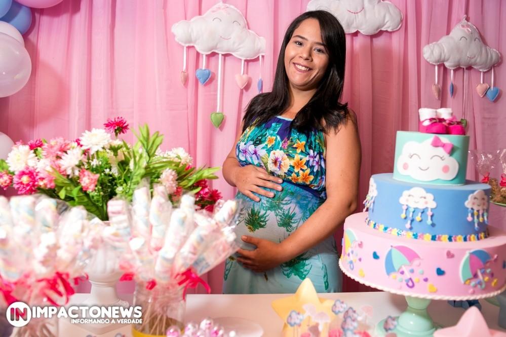 Veja aqui as fotos do Chá de Bebê mamãe Ana Laura que em breve conhecerá a princesinha Alice