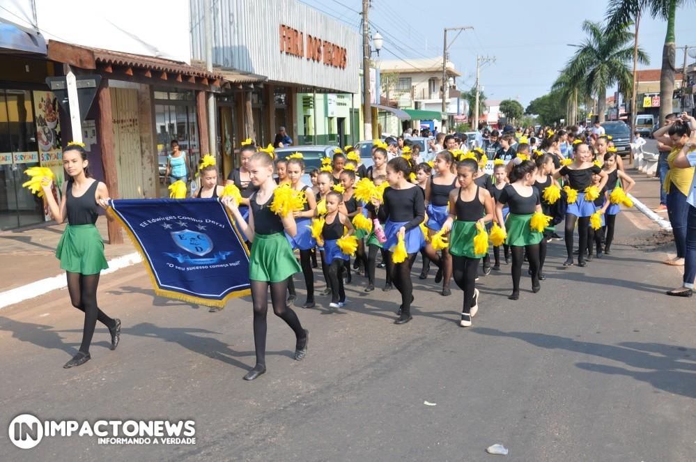 Semana da Pátria: Fotos do Desfile Cívico em Deodápolis