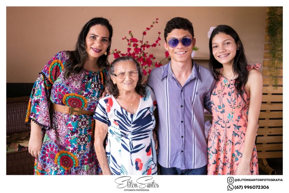 Fotos da festa de 'Bodas de Ouro' do Casal José e Maria