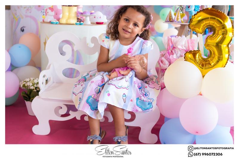 A Maria Luiza completou 3 aninhos em uma festa linda e cheia de muita alegria