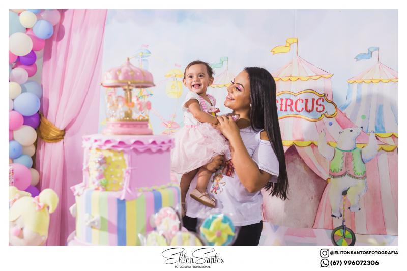 O Circo da Maria Alice - 1º aninho em uma linda festa