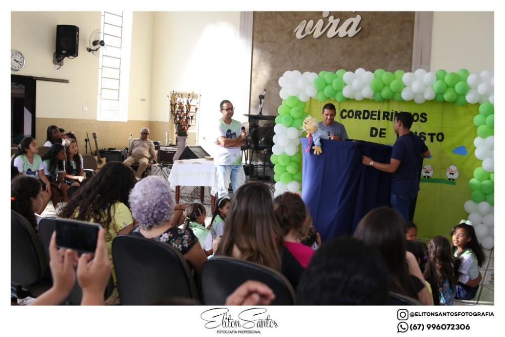 4º culto infantil do conjunto Cordeirinhos de Cristo da Igreja Evangélica Assembleia de Deus (Ministério do Belém)