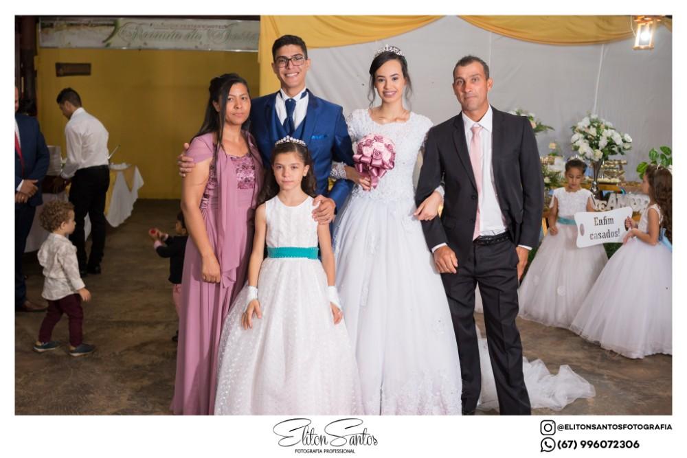 Casamento de Rafael e Quevillin Santos