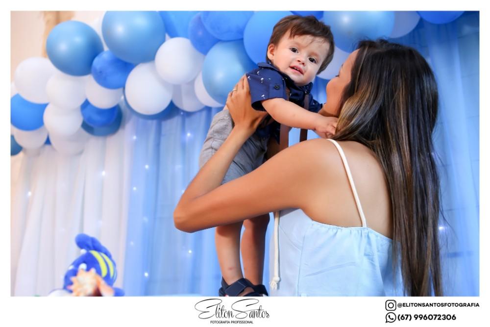 O Miguel completou o seu primeiro aninho em uma linda festa