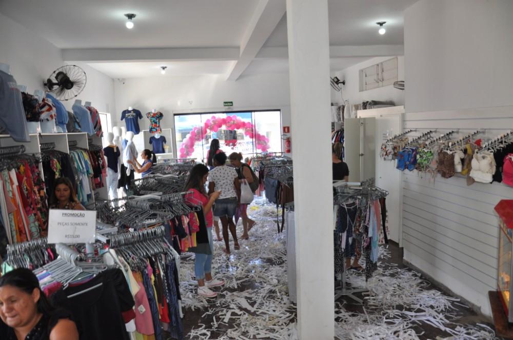 Inauguração da Central Modas em Deodápolis foi um sucesso