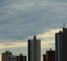 Meteorologia indica quinta-feira de tempo nublado e pancadas de chuva em MS