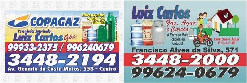 Compre seu gás com quem tem a entrega mais rápida da cidade em Deodápolis! Ligue para o Luís Carlos Gás