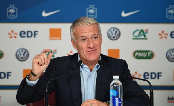 Deschamps convocou a seleção francesa nesta quinta-feira (Foto: FRANCK FIFE/AFP)