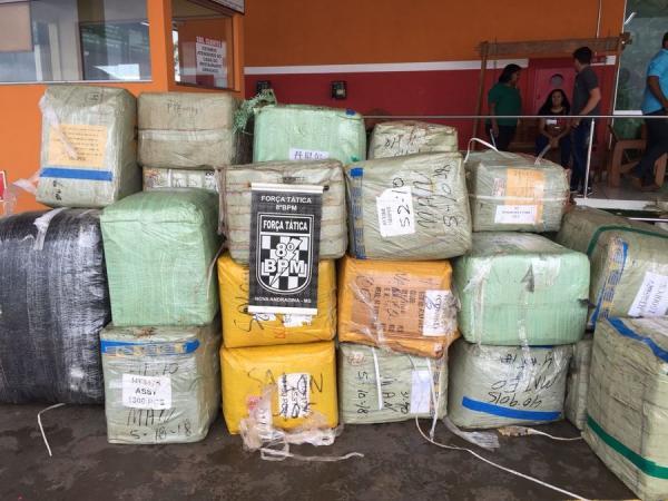 Batalhão de Nova Andradina apreende 32 mil óculos contrabandeados