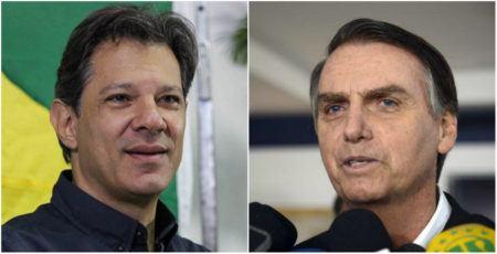 Ibope: Fernando Haddad ultrapassa Bolsonaro na cidade de São Paulo