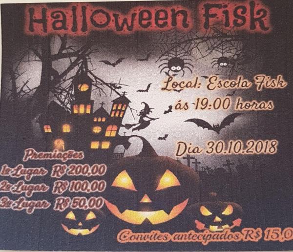 Na próxima terça (30/11), a Fisk realizará o Halloween Fisk; saiba como participar