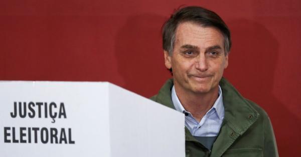 Bolsonaro vence 2º turno e é eleito o novo presidente do Brasil