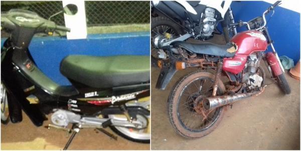 PM apreendeu motos com documentação em atraso e notificou condutores sem CNH