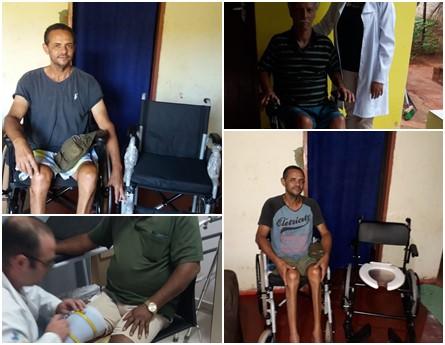 Prefeitura realizou entrega de cadeiras de rodas e outros materiais solicitados na CER/APAE de Campo Grande