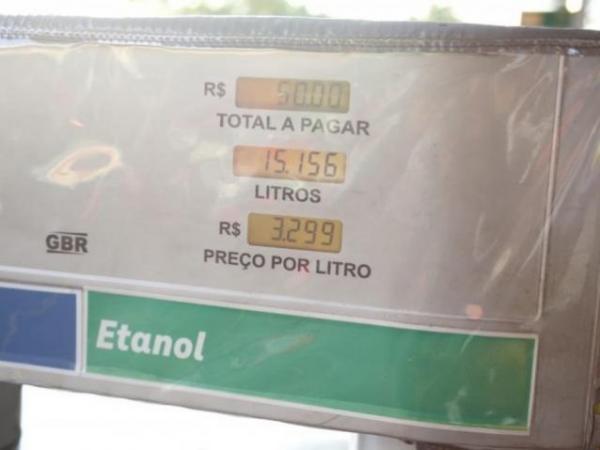 Consumo de etanol cresce 48,7% e de gasolina cai 8% em MS