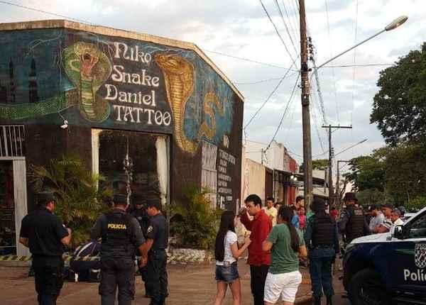 Sete horas após execução de empresário, tatuador é assassinado em Ponta Porã