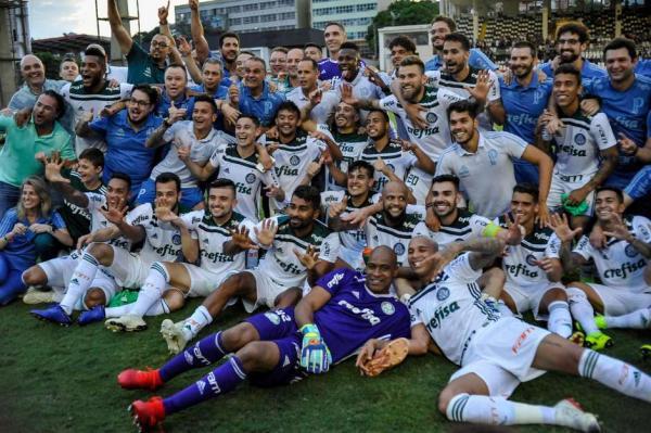 Palmeiras assume liderança isolada do ranking da CBF