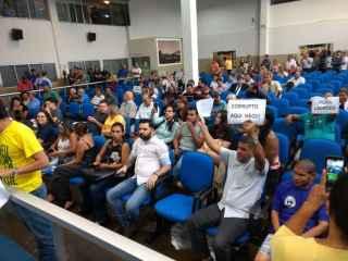 Com três presos e oito ausentes, eleição da Presidência da Câmara de Dourados é adiada