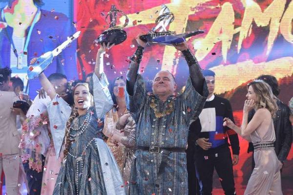Leo Jaime é o campeão do 'Dança dos Famosos' 2018, no 'Domingão do Faustão' - Crédito: Fábio Rocha/Globo