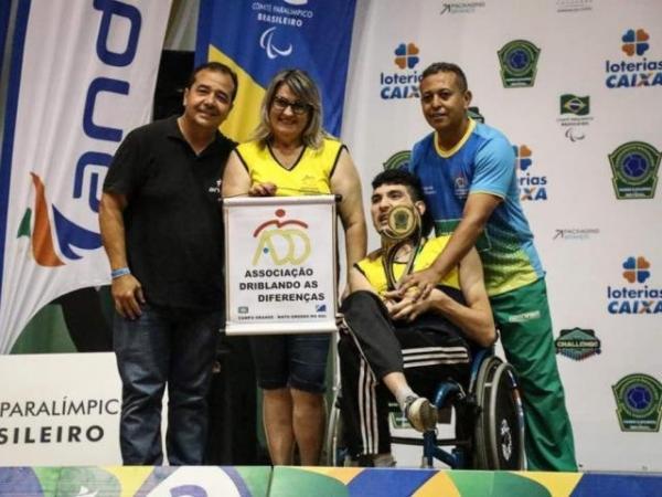 Paratleta de MS conquista bicampeonato de Bocha Paralímpica em SP